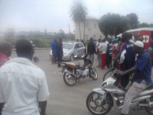 Accident de motos à Bouaké