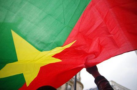 drapeau du Burkina Faso de flickr.com