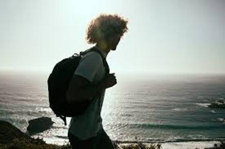 L'Homme, Randonnée Pédestre, Sac À Dos, Océan, Plage pixabay.com