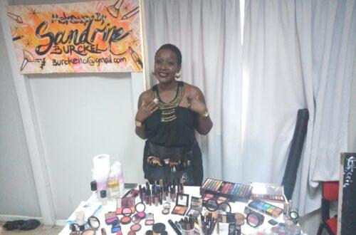 Article : Festival Afropolitain : Sandrine Burckel, maquilleuse, milite contre la dépigmentation