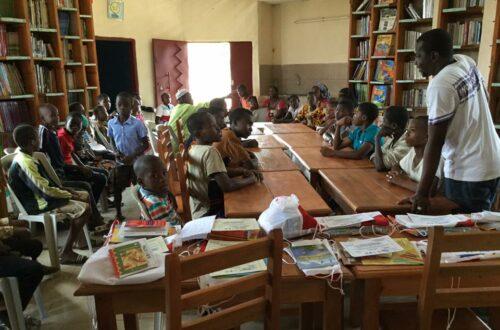 Article : La Maison Connectée Des Savoirs (MCDS) de Grand-Lahou récompense ses lecteurs